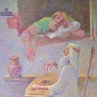 Песнь о добре и зле. ( картина, х. м. ) :: Святец Вячеслав