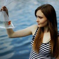 золотая рыбка :: Настя Мордачева