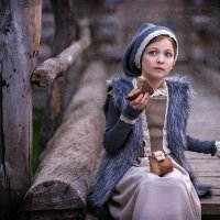 девочка из сказки :: Татьяна Исаева-Каштанова