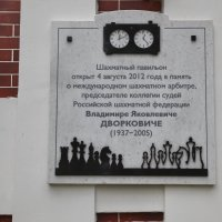 Шахматный павильон в память о земляке.  Таганрог :: Андрей Lyz