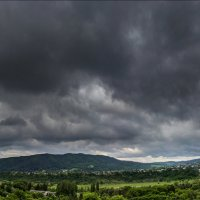 Перед дождем панорама 2034 :: Олег Петрушин