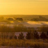 Утро туманное :: Евгений Поляков
