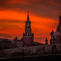 Тревожная Москва :: Фотограф Андрей Журавлев