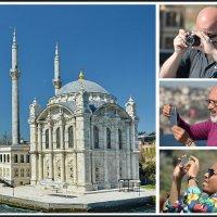 Мечеть Ортакёй у Босфорского моста. :: Анастасия Смирнова