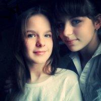 я с подругой Настей❤ :: Юлия Кочергина