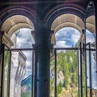 Вид из окна замка Нойшванштайн :: Людмила Финкель