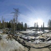 Рускеальские водопады :: Николай Т
