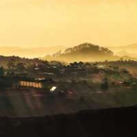 Рассвет в горах :: Денис Пострыгайло
