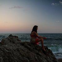 Закат на пляже Могрен :: Юлия Коновалова