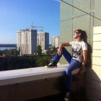 На крыше высотки. :: Кирилл Михайлов