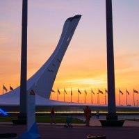 Вечер в Олимпийском парке :: Дмитрий Редьков