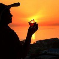 Солнце в бокале :: Татьяна Беляева