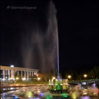 Шоу светомузыкального фонтана. :: Anna Gornostayeva