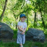 В парке с сыном и его другом :: Василий Шевцов