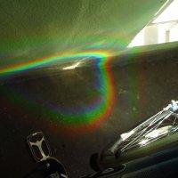 Два порядка дифракции на компакт-диске :: Андрей Лукьянов