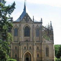 Собор Святой Варвары, покровительницы шахтеров :: Елена Смолова
