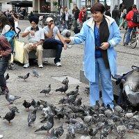 На площади Амстердама :: Евгений Дубинский