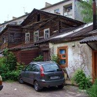 Рязань. Двор на ул. Садовой. :: Лесо-Вед (Баранов)