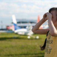 Где же самолет? :: Мария Сидорова