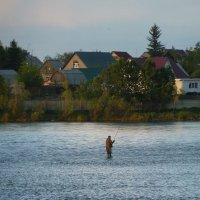 Вечерняя рыбалка :: Галина