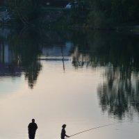 Рыбалка для троих :: Галина