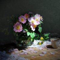 Цветы шиповника :: Валентина Белоусова
