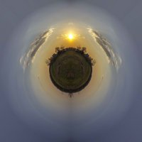 Закат или рассвет на планете? :: Сандродед