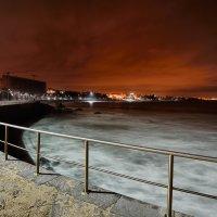 Ночная набережная Estoril :: Дмитрий Бакулин