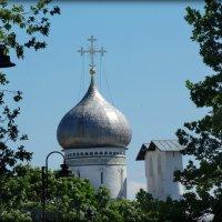 Купол и звонница церкви Петра и Павла с Буя. :: Fededuard Винтанюк