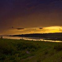 Закат на Кубене - реке :: Валерий Талашов