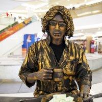 Живая статуя,Тайланд :: Евгений Подложнюк