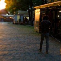 Прогулка на закате :: Аннушка Козельская