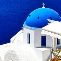 Церковь на Санторини :: Александр