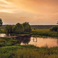Закат на р.Лесной Тамбов :: Александр Тулупов