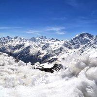 Кавказский хребет :: Евгений Гусев