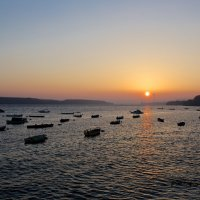 Рассвет над рекой Дунай :: Андрей Кучерявенко