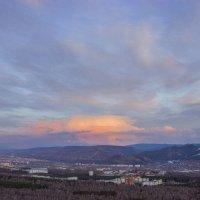 Закат над городом :: Сергей Щербинин