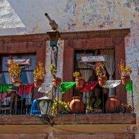 """Мексиканские балконные """"цветы"""" :: Виктор Льготин"""