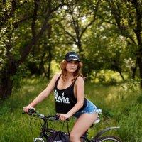 прогулки на велосипеде :: Алена