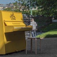 Неоконченная пьеса на желтом пианино :: Valeriy Piterskiy