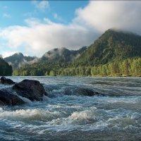 Катунь-река. Перекат :: Виктор Четошников