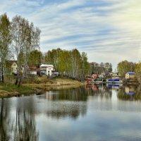 Пришла весна на дачи :: Дмитрий Конев