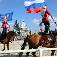 джигиты и кони :: Олег Лукьянов