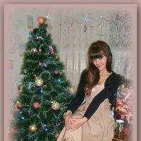 Сашенька..и елка... :: Людмила Богданова (Скачко)
