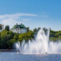 Красоты набережной в Чебоксарах. :: Андрей Гриничев