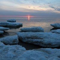 Северодвинск. Разные дни у Белого моря. Закат :: Владимир Шибинский