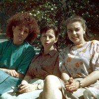 Студентки, 1992 год :: Евгений Золотаев