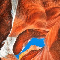 Upper Antelope Canyon :: Lucky Photographer