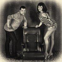 Контраст фотографа и модели :: Борис Смирин