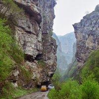 Чегемское ущелье в дождь :: Денис Кузнецов